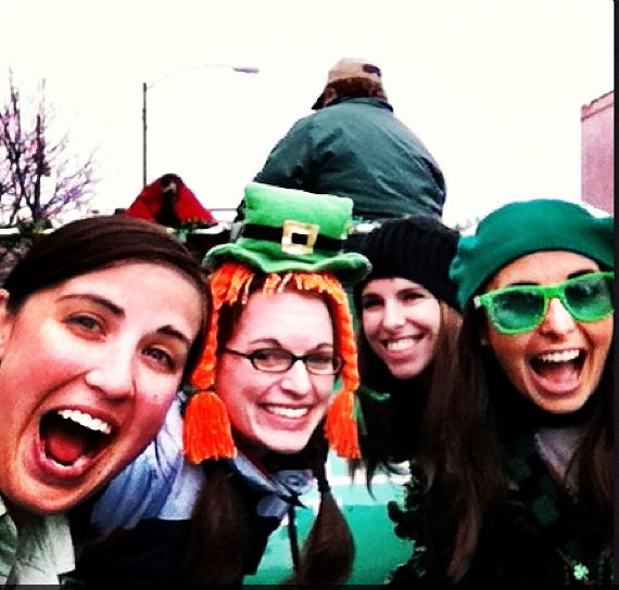 Obviously I can get behind gal pals that love Eire