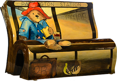 Michael Bond's Please Look After This Bear by Artist Michelle Heron